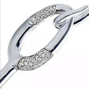 Ippolita Cherish Pave Dia 925  Diamond Bangle .